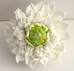 flower (arce baked goods) Tags: wedding cake 3d toppers