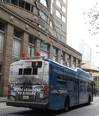 King County Metro 2015 New Flyer XT40 4365 (IcelandAir wrap) (zargoman) Tags: seattle county travel bus electric king metro trolley transportation transit kiepe elektrik kingcountymetro newflyer lowfloor xcelsior