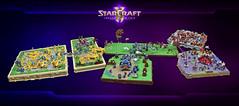 StarCraft II: My life for Aiur (cecilihf) Tags: sc layout lego starcraft blizzard base sc2 terran moc zerg protoss
