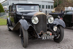 Brooklands March 2016 - 1929 Bentley 4.5 Litre Sports Saloon (RX 6108) (growler2ndrow) Tags: uk england classic cars surrey motors weybridge brooklandsmuseum