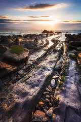 Stones of Barrika (Matthieu Roubinet) Tags: espagne plage barrika biscaye