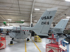 N60BB 67-21416 Yankee Air Museum Detroit Willow Run Ypsilanti 27 November 2015 (ACW367) Tags: detroit ypsilanti usaf cessna skymaster willowrun yankeeairmuseum o2a 6721416 n60bb