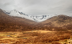 Cluanie Forest in the Highlands (Michael Leek Photography) Tags: snow mountains nature weather forest river landscape scotland spring highlands nopeople remote hdr highdynamicrange scottishhighlands westernhighlands glenshiel scottishlandscapes scotlandslandscapes cluanieforest scotlandsbeauty michaelleek michaelleekphotography