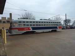 Kenosha PCC Streetcar (wildchicken_13) Tags: wisconsin antique trolley transit restored streetcar wi kenosha pcc wildchicken13