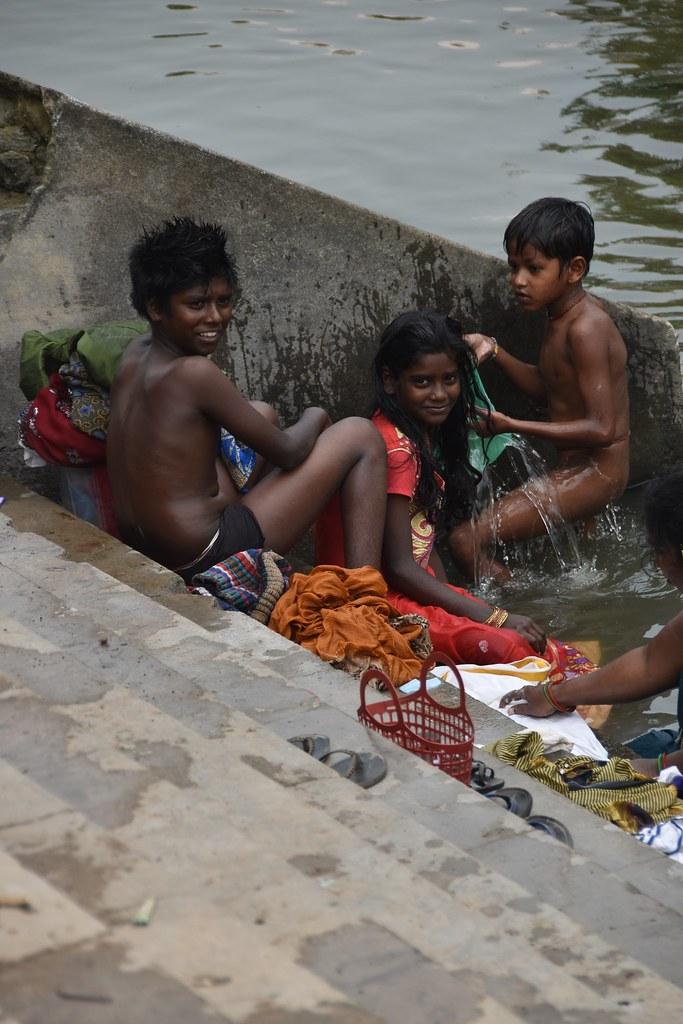 Indian Village Women Bathing In River  Babe  Photo Xxx-1301