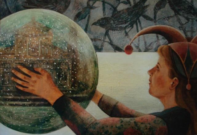 Smythe Margaret, 'Jester's Globe'