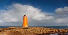 Hlmbergsviti (holger.torp) Tags: ocean sea sky lighthouse tower architecture outdoor sina reykjanes sk himinn haf viti hlmbergsviti