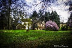 Cottage in the Trust_DSC5780 photoshop NIK edit 3  (nkatesphotography) Tags: landscape outdoors scenic historic nikon1855mm nikond7000 pennypackecologicalrestorationtrust