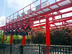 New second train on T3 (Midgetman82) Tags: kentucky amusementpark louisville kentuckykingdom
