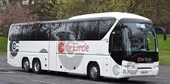 PN13TFF  City Circle, Edinburgh (highlandreiver) Tags: city bus london circle coach edinburgh cumbria hayes carlisle coaches neoplan tff tourliner pn13 pn13tff