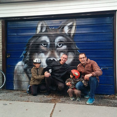 Wolf Garage 2016 (Crone family) Tags: john liam danny burl 2016