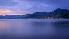 Danube (radomir_bojic) Tags: blue river landscape long exposure serbia danube srbija dunav reka golubac erdap