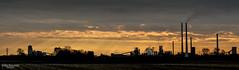 Sunday morning (Zaphod Beeblebrox 1970) Tags: sunset chimney industry silhouette dawn dmmerung duisburg rhein sonnenaufgang industrie ruhr ruhrgebiet schornstein rheinberg
