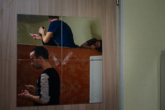 dormitory (osipova_polina) Tags: party portrait people man reflection students girl night mirror evening spring pentax russia smoke dorm guys smoking rest nightlife saintpetersburg cigarettes dormitory spb piter pentaxkx питер pentaxda