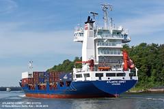 ATLANTIC COMET (9113733) (006-06.08.2015) (HWDKI) Tags: ship vessel containership schiff kiel nordostseekanal imo nok landwehr containerschiff kielcanal delfs sietas atlanticcomet hanswilhelmdelfs 9113733