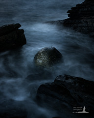 Alien (Greg Whitton Photography) Tags: sea seascape skye water rock landscape scotland waves egg boulder elgol a7rii