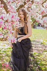 (PinkPetra) Tags: park pink portrait tree cute nature smile fashion canon garden hair outside happy 50mm spring outfit model hungary wind fashionphotography outdoor streetphotography happiness smiley 7d blonde magnolia lovely hairstyle tulle szeged magnoliatree streetfashion 3p 2016 tulleskirt portraitphotography portr tll portreature pinkpetraphotography horvthpetra kriancsi