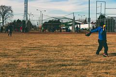 Softball @ Centennial Park (A Great Capture) Tags: park people toronto ontario canada field grass yellow clouds ball centennial photographer hand baseball fame canadian diamond glove catch softball throw springtime on agc 2016 ald vloud ash2276 adjm ashleylduffus wwwagreatcapturecom agreatcapture mobilejay jamesmitchellspring