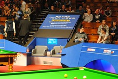 The Crucible and Table Two (zawtowers) Tags: world two table 50mm championship afternoon chairs theatre sheffield saturday first round april session players 16th snooker fifty crucible 2016 betfred thehomeofsnooker afsnikkor50mmf18g