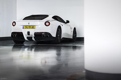 F12. (Gal cho photography) Tags: world street original cars love beautiful car canon photography 50mm photo cool earth garage picture pic super ferrari special exotic gal photograph beast gt expensive rare cho supercar f12 berlinetta whtie 650d sprcial ferrarif12 chobotaro berllineta