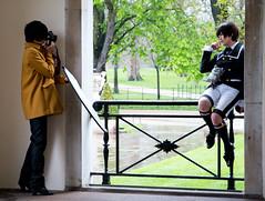 Photoshoot (Leon van Hese) Tags: london canon model photographer photoshoot hydepark kensingtongardens lancastergate 2016 italiangardens 70d thelongwater 1585