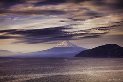 Izu doi Mt.fuji (koshichiba) Tags: ocean sunset sea seascape japan landscape coast fuji filter lee nd fujisan   izu mtfuji  doi   nishiizu