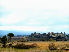 cit de Carcassonne (lili212.morel) Tags: cit nuage paysage loin carcassonne