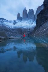 Celebrating my birthday with a splash (terenceleezy) Tags: chile patagonia southamerica argentina fitzroy torresdelpaine parquenacionaltorresdelpaine happyearthday cuernosdelpaine miradortorres
