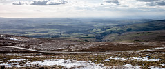The long view westwards (allybeag) Tags: sea snow hazy distance isleofman pennines snaefell