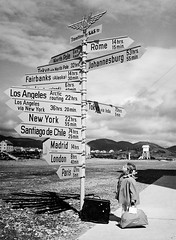 Little girl by the signpost at Bod Airport, Norway, 1968 [2604  3543] #HistoryPorn #history #retro http://ift.tt/1WMFP6L (Histolines) Tags: history girl norway by airport little retro timeline signpost 1968 2604  bod vinatage 3543 historyporn histolines httpifttt1wmfp6l