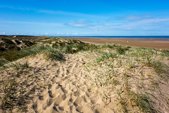 Over the dunes to the sea (tabulator_1) Tags: bluesky ainsdale southport