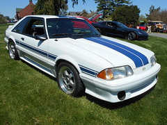 1991 Shelby AAC Mk 1 (splattergraphics) Tags: ford shelby 1991 mustang carshow aac northeastmd chesapeakeconcours shelbyaac wineryatelkmanor aacmk1