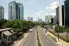 Rasuna Said Jakarta on Sunday (herman lubis) Tags: traffic no sunday jakarta said rasuna