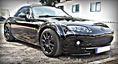 Mazda Mx-5 NC1 (RoadsterAddiction) Tags: mazda miata jdm xenon mx5 brembo roadster enkei detailing koni mazdaspeed blackrims blackcar eunos blackonblack menzerna sonax autoglym ncec loweredcar mx5nc jdmgram miatagram