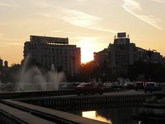 Sunset in Bucharest (cod_gabriel) Tags: sunset romania bucharest bucuresti bukarest roumanie apus boekarest bucarest romnia bucureti bucareste asfinit