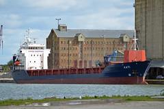KATI (sgreen757) Tags: port docks lens boat dock nikon ship harbour sigma cargo gloucestershire kati shipping coaster hansa glos sharpness berthed 55200mm hsm d7000