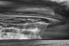 4-28-16 TX (ir guy) Tags: blackandwhite bw sunlight storm rain weather photography photo texas tx thunderstorm plains 2016 supercell jeremyholmes
