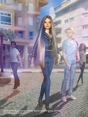 Maria Barlin Boguslavsky (2015). (tovarish_barbie) Tags: israel model doll maria ooak barbie singer actress boguslavsky barlin afdgroup