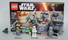 Star Wars LEGO 75141 Kanan's Speeder Bike (KatanaZ) Tags: starwars lego stormtrooper rebels minifigures kananjarrus imperialcombatdriver kanansspeederbike lego75141