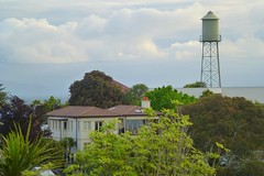 Thompson Road Water Tower (gec21) Tags: newzealand tower panasonic nz napier hawkesbay 2015 dmctz20