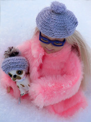 2205892 (dagber) Tags: winter pet snow fun stacie doll handmade mattel