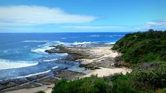 Norah Head scenery (PeterCH51) Tags: seascape landscape coast scenery shoreline rocky australia coastal norah seashore rugged norahhead peterch51