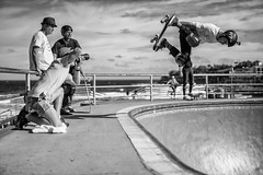 How to take a picture of air (Leighton Wallis) Tags: photographer skateboarding sony air skating sydney australia bowl 55mm skate nsw skateboard newsouthwales alpha f18 bondibeach mirrorless a7r emount ilce7r