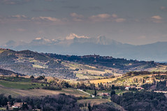 Toskana (matthias_oberlausitz) Tags: italien felder berge toscana frhling toskana hgel zypressen
