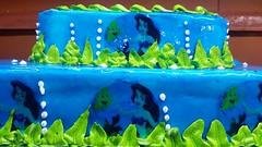 Torta paisaje marino