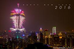 Happy New Year 2016!!! (olvwu | ) Tags: fireworks taiwan newyear taipei taipei101  explode newyeareve firecracker   2016 101 jungpangwu oliverwu oliverjpwu  101 olvwu taipei101tower taipei101skyscraper 101 jungpang 2016101 2016