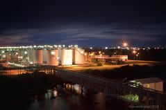 Odfjell Terminal @ Campana, Argentina (Rhannel Alaba) Tags: sunset argentina sunrise nikon san ship terminal campana lorenzo d90 pido alaba odfjell rhannel