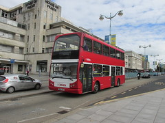 402, Royal Parade, Plymouth, 09/10/15 (aecregent) Tags: volvo plymouth 402 citybus royalparade goahead eastlancs b7tl 091015 pn02xcc