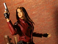 Dolls in Leather tag game (Blondeactionman) Tags: