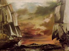 I velieri gemelli (Artlynow galleria d'arte) Tags: marina mare quadro artista pittura dipinto velieri quadroolio airtheartist